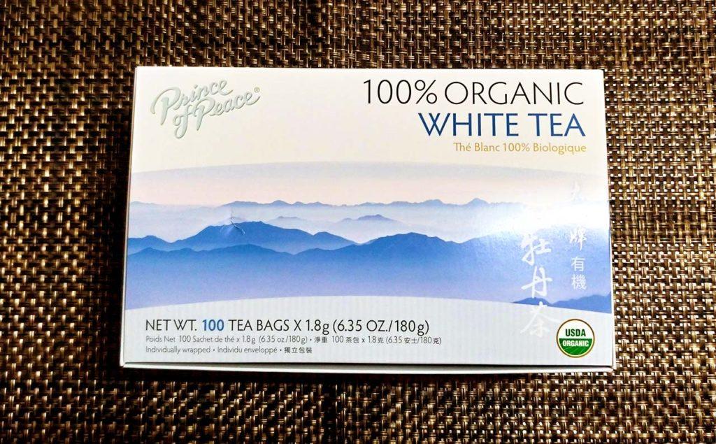 iHerb購入 WHITE TEA