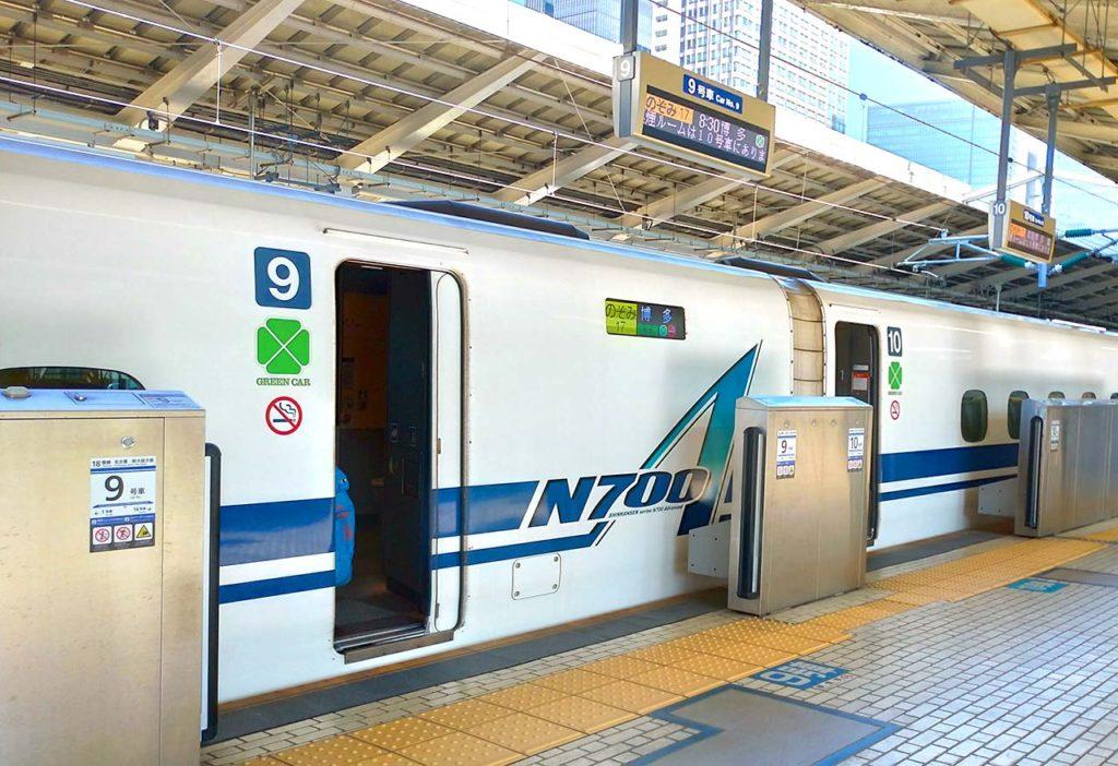 東京駅 N700A のぞみ