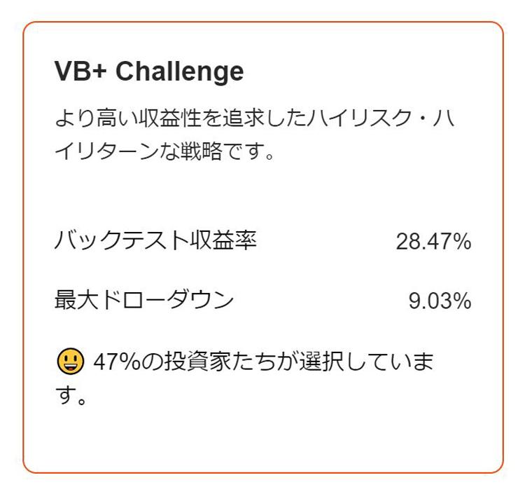 HEYBIT(ヘイビット) 「VB+ Challenge」